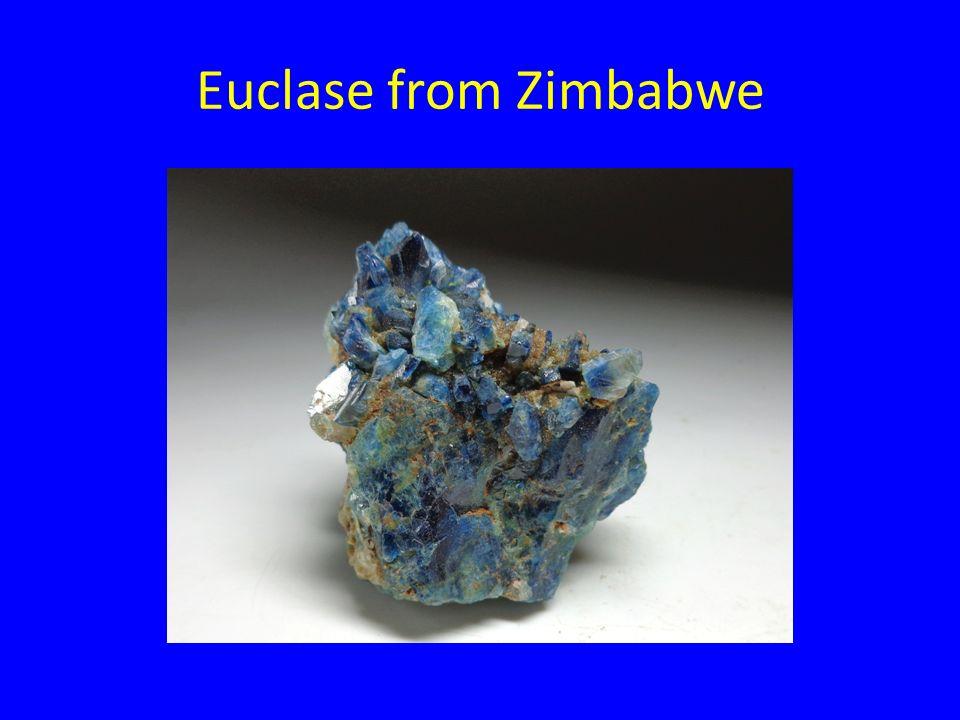 Euclase from Zimbabwe