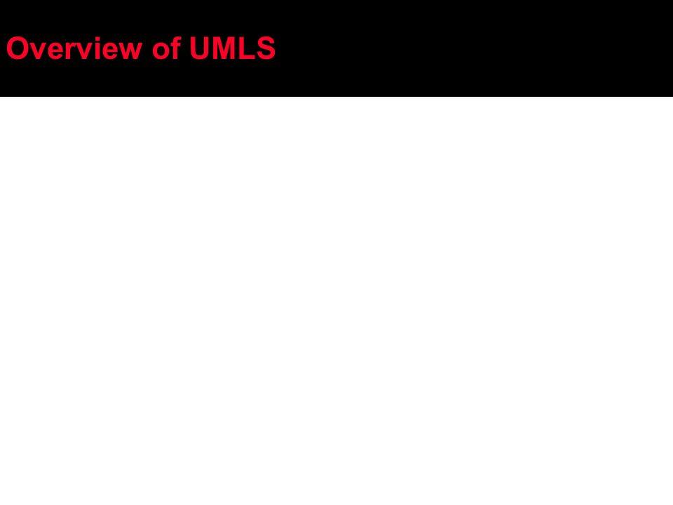 Overview of UMLS