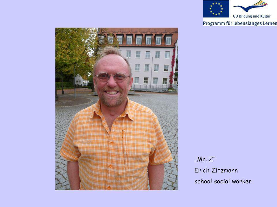 Mr. Z Erich Zitzmann school social worker
