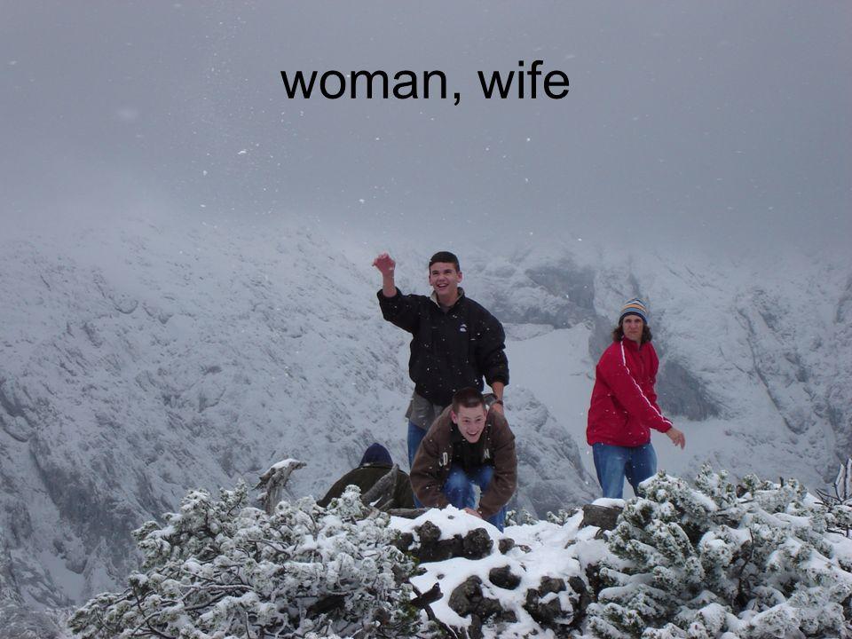 woman, wife