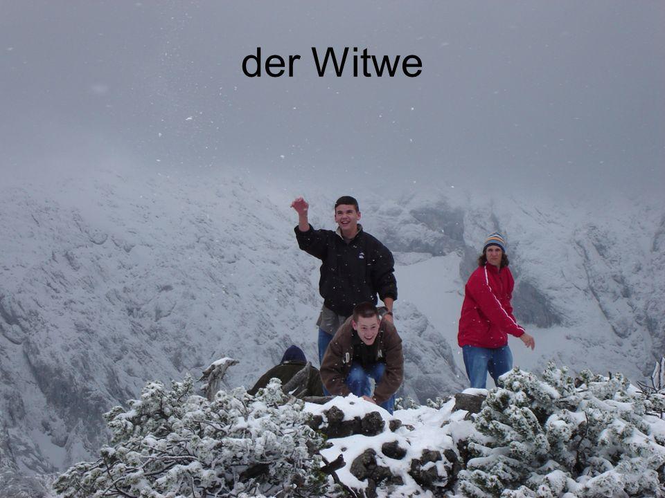 der Witwe