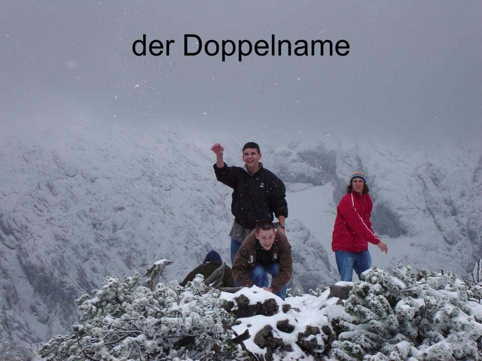 der Doppelname