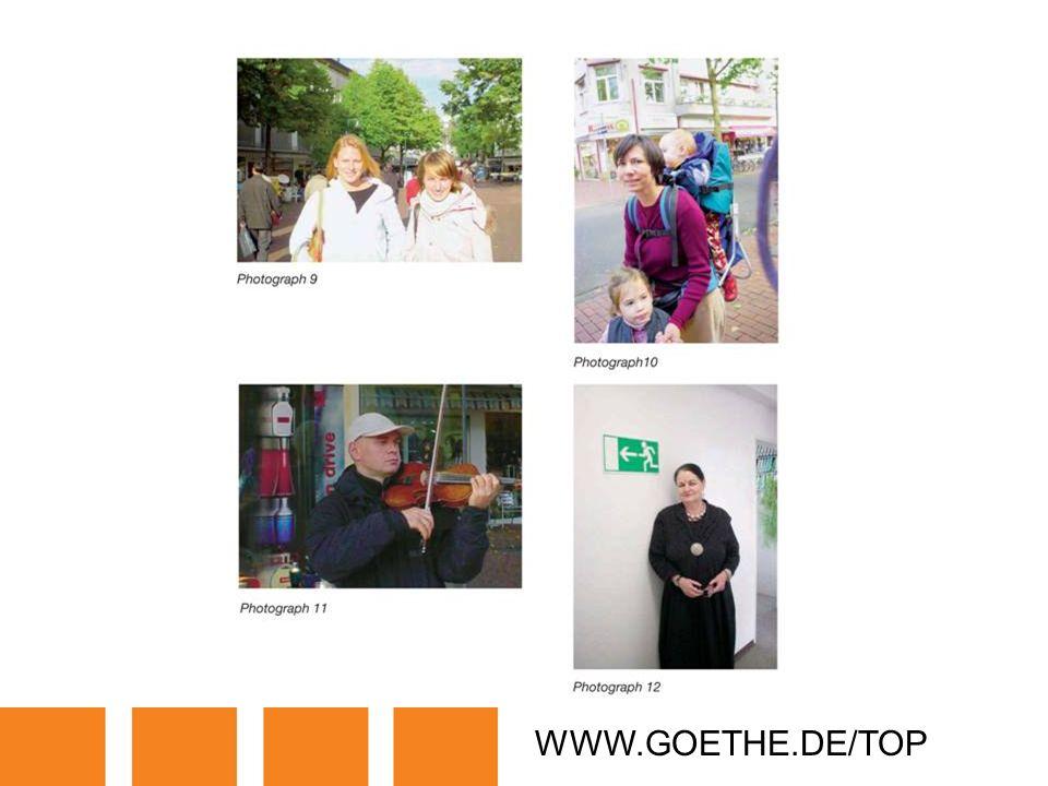 WWW.GOETHE.DE/TOP TRANSPARENCY 3B: PEOPLE