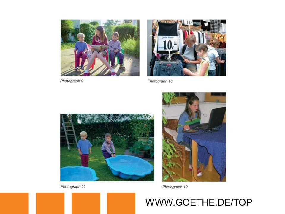 WWW.GOETHE.DE/TOP TRANSPARENCY 7B: PHOTO FILE ON ANNIA SCHÖNE