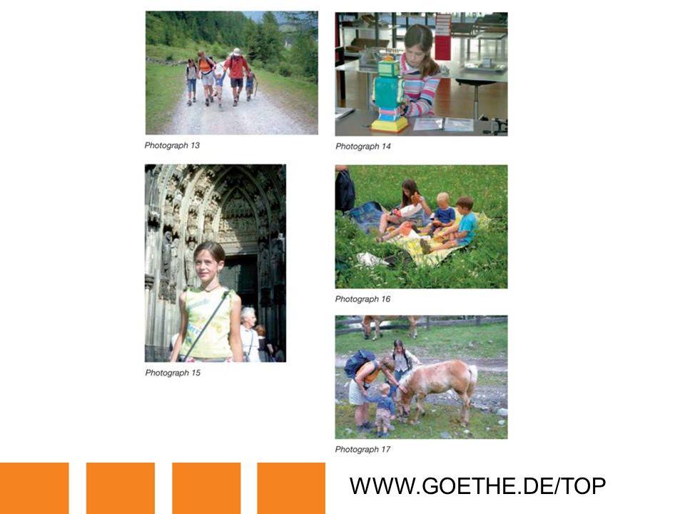 WWW.GOETHE.DE/TOP TRANSPARENCY 7C: PHOTO FILE ON ANNIA SCHÖNE