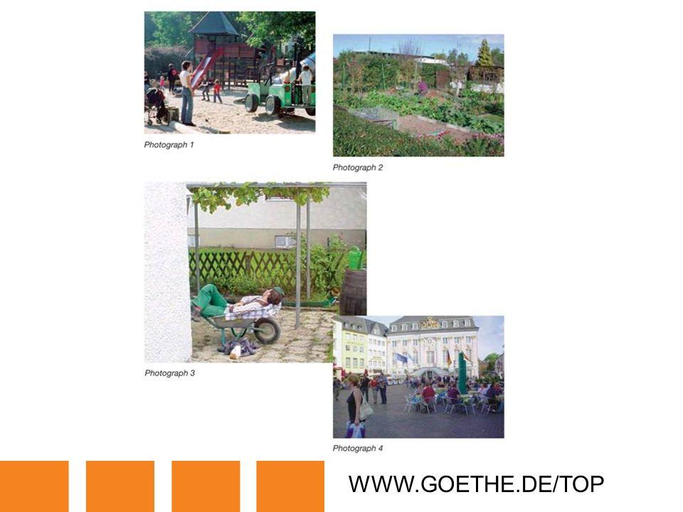 WWW.GOETHE.DE/TOP TRANSPARENCY 9: DAILY ACTIVITIES