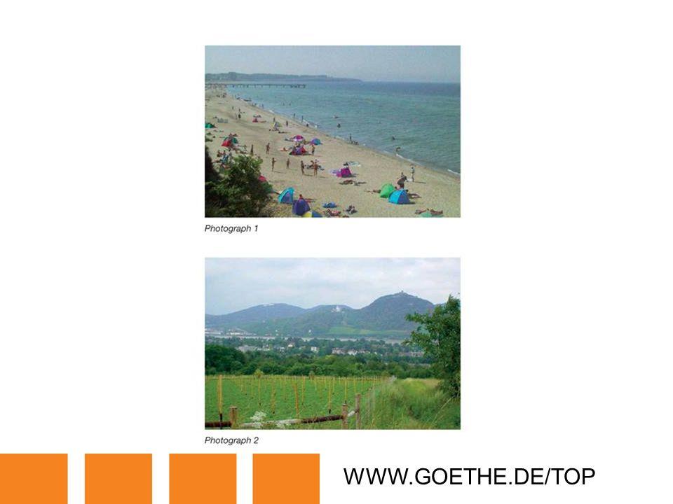 WWW.GOETHE.DE/TOP TRANSPARENCY 21: NEEDS AND WANTS