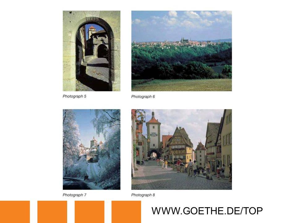 WWW.GOETHE.DE/TOP TRANSPARENCY 15A: ROTHENBURG