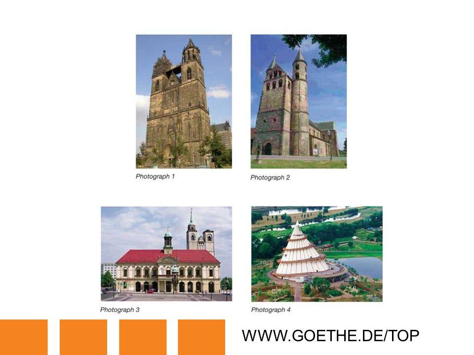 WWW.GOETHE.DE/TOP TRANSPARENCY 16: MAGDEBURG