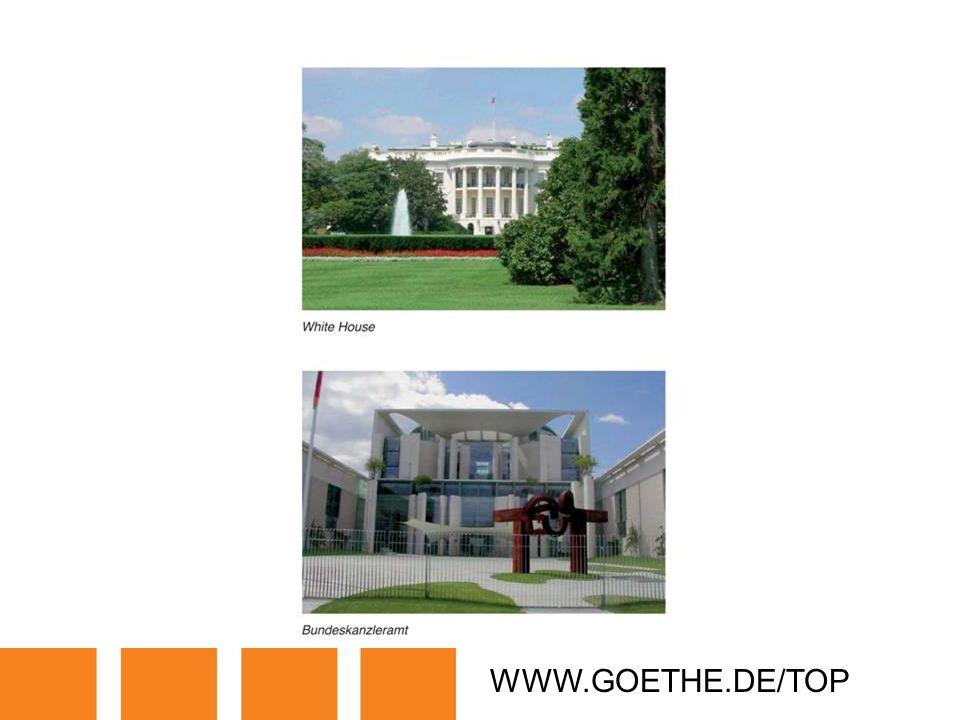 WWW.GOETHE.DE/TOP TRANSPARENCY 17A: PUBLIC BUILDINGS