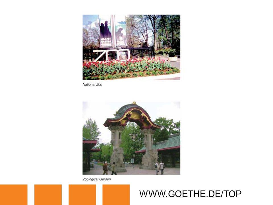 WWW.GOETHE.DE/TOP TRANSPARENCY 17F: PUBLIC BUILDINGS