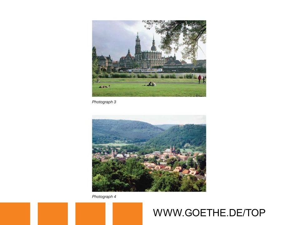 WWW.GOETHE.DE/TOP TRANSPARENCY 2B: BEAUTIFUL PLACES IN GERMANY