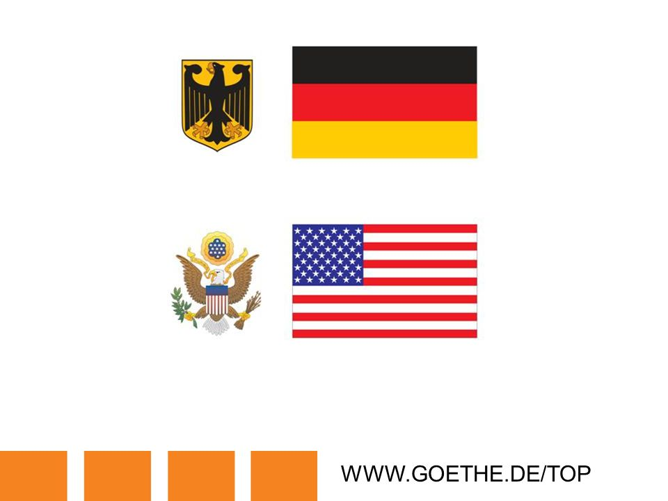 WWW.GOETHE.DE/TOP TRANSPARENCY 18: POLITICAL SYMBOLS