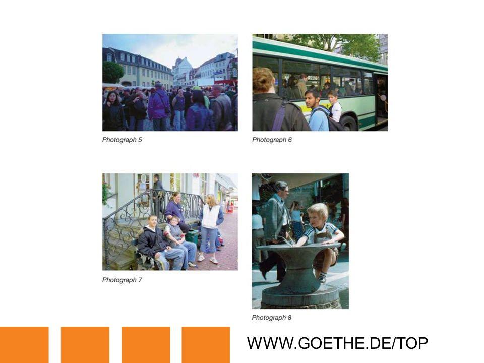 WWW.GOETHE.DE/TOP TRANSPARENCY 3A: PEOPLE