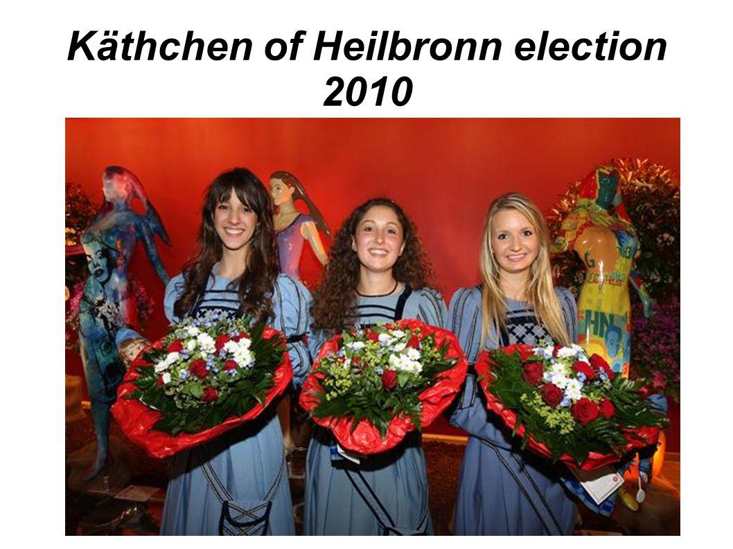 Käthchen of Heilbronn election 2010