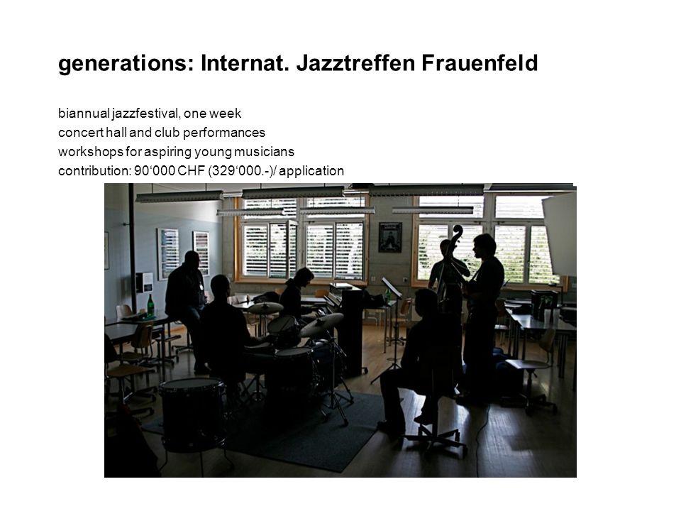 generations: Internat.
