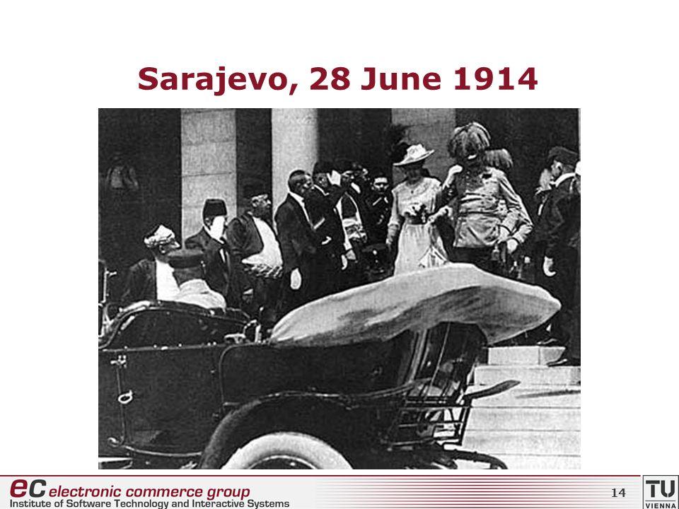 Sarajevo, 28 June 1914 14