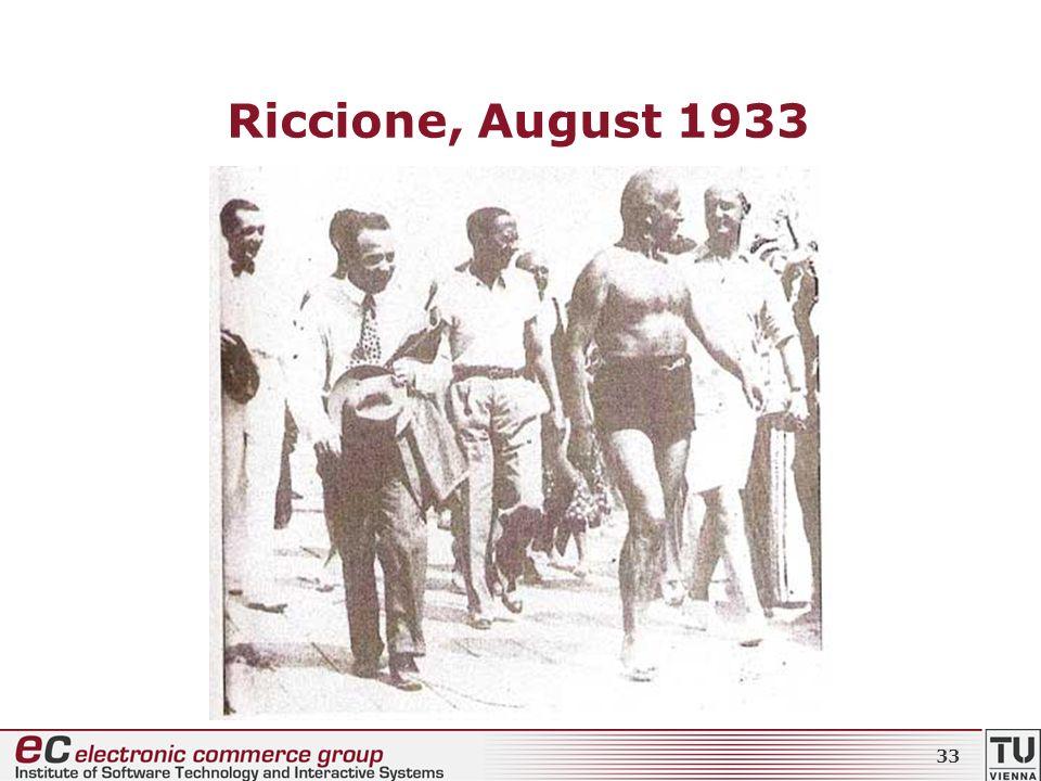 Riccione, August 1933 33