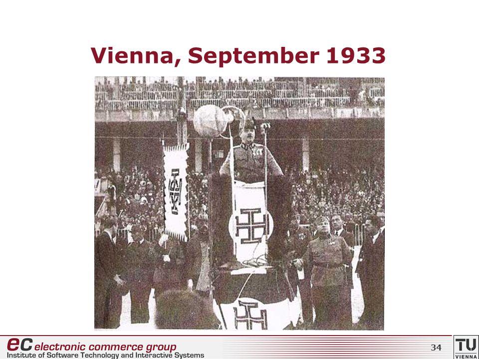 Vienna, September 1933 34