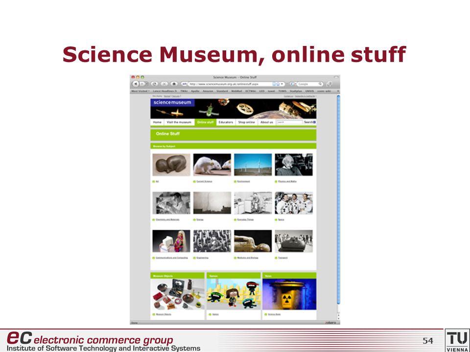 Science Museum, online stuff 54