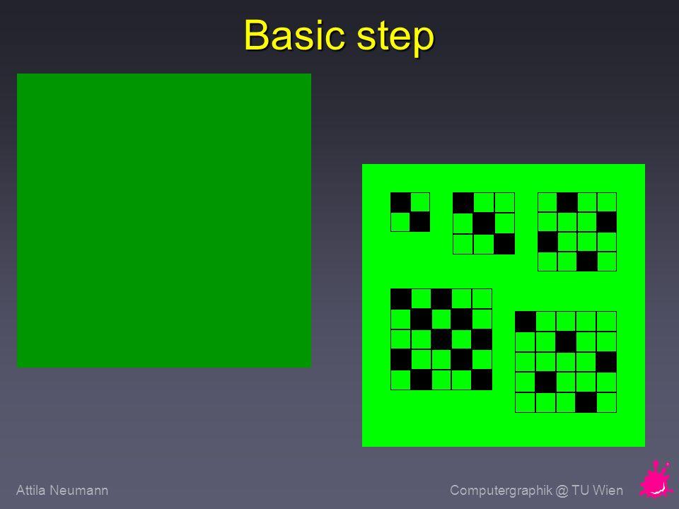 Attila NeumannComputergraphik @ TU Wien Basic step