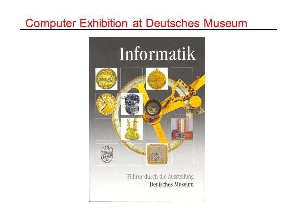 Computer Exhibition at Deutsches Museum