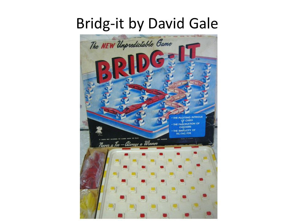 Bridg-it by David Gale