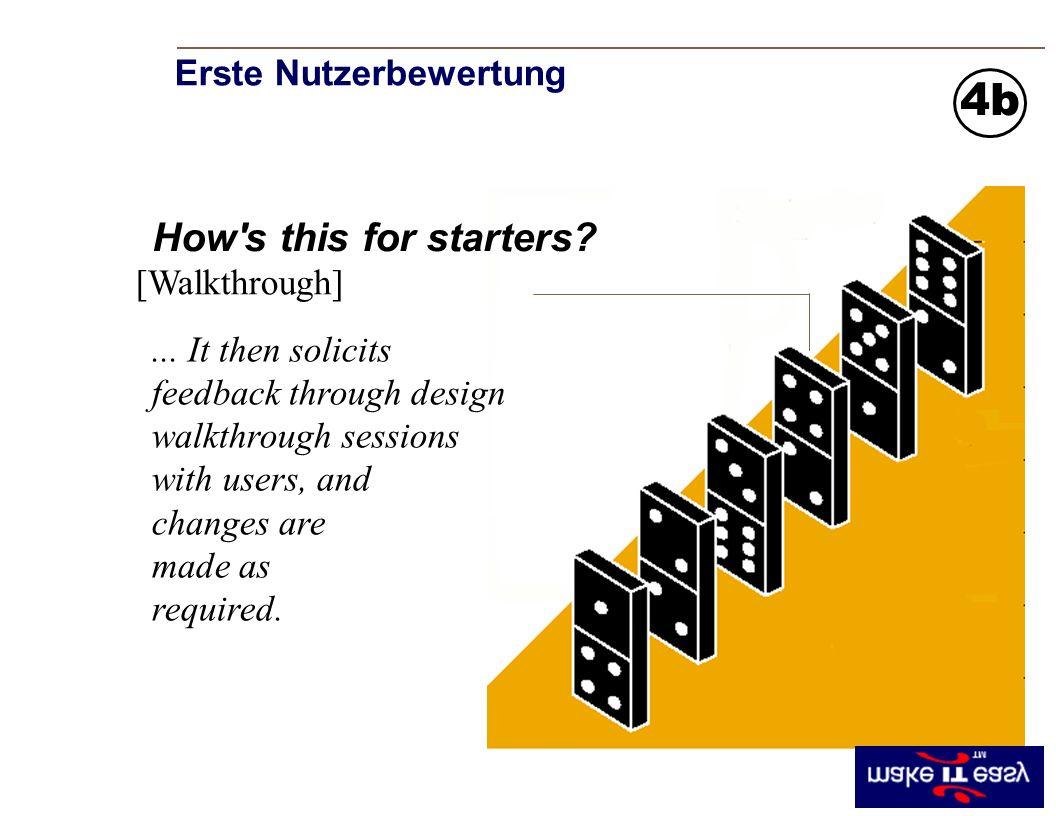 Erste Nutzerbewertung [Walkthrough] How s this for starters.