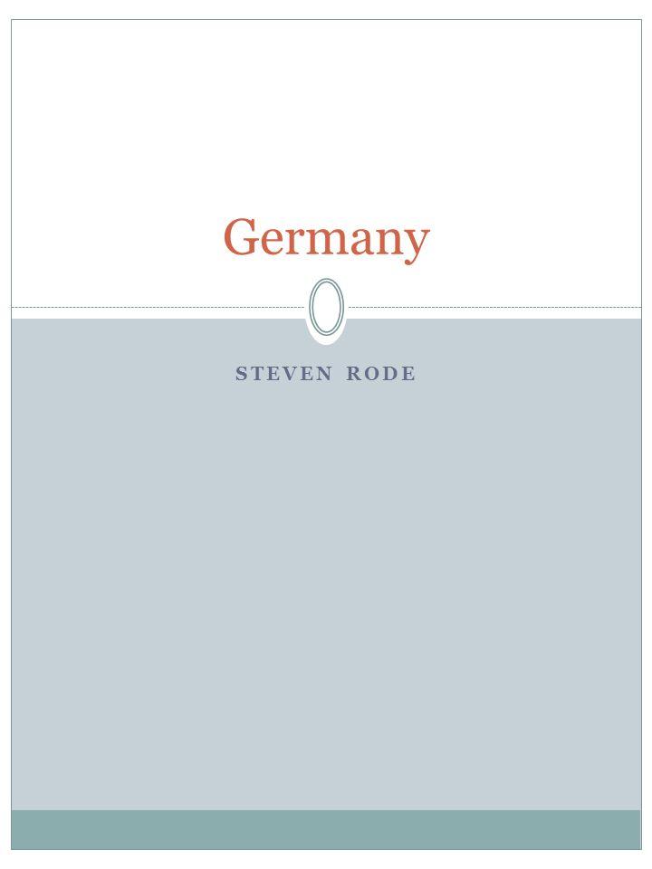 STEVEN RODE Germany