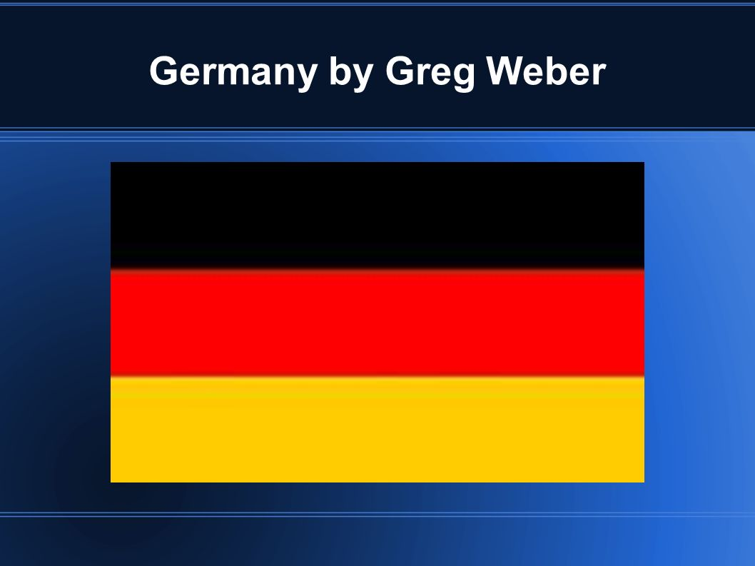 Germany is Red