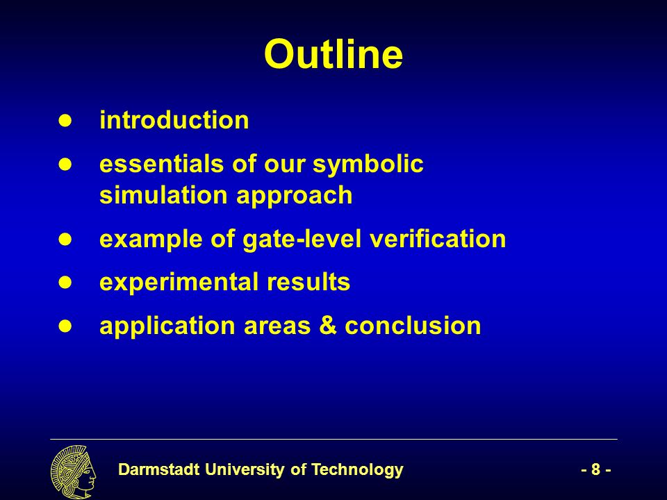 Darmstadt University of Technology- 49 - .