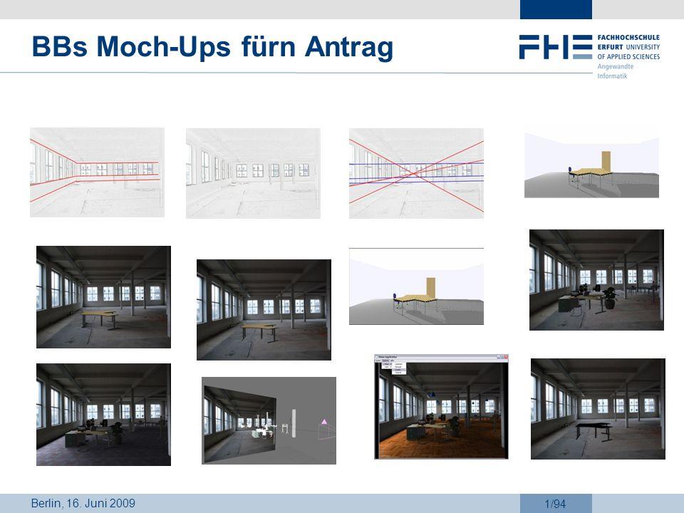 Berlin, 16. Juni 2009 1/94 BBs Moch-Ups fürn Antrag