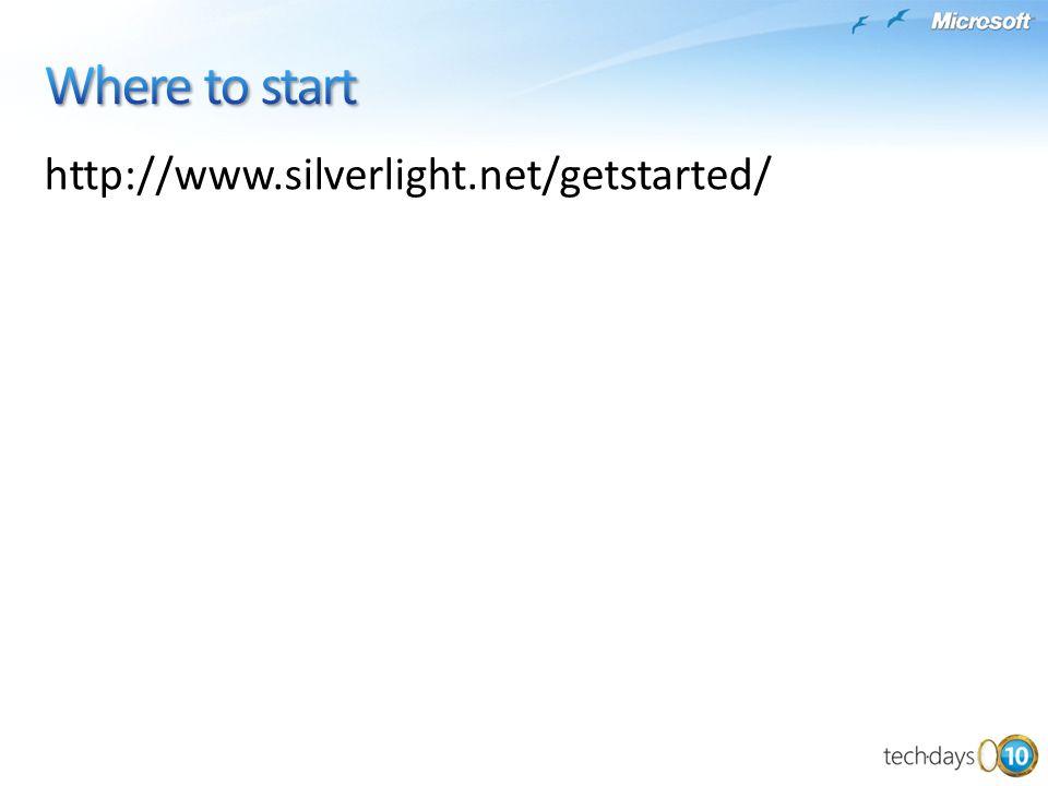 http://www.silverlight.net/getstarted/