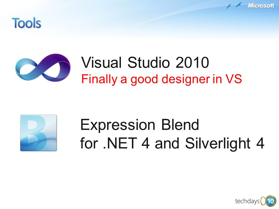 Visual Studio 2010 Finally a good designer in VS Expression Blend for.NET 4 and Silverlight 4