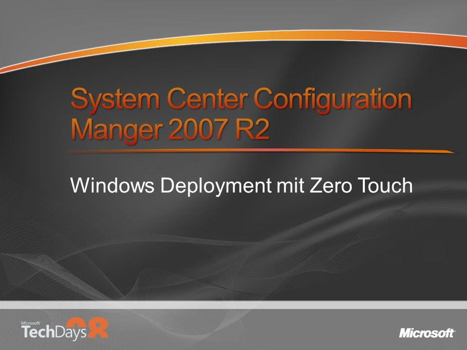 Windows Deployment mit Zero Touch