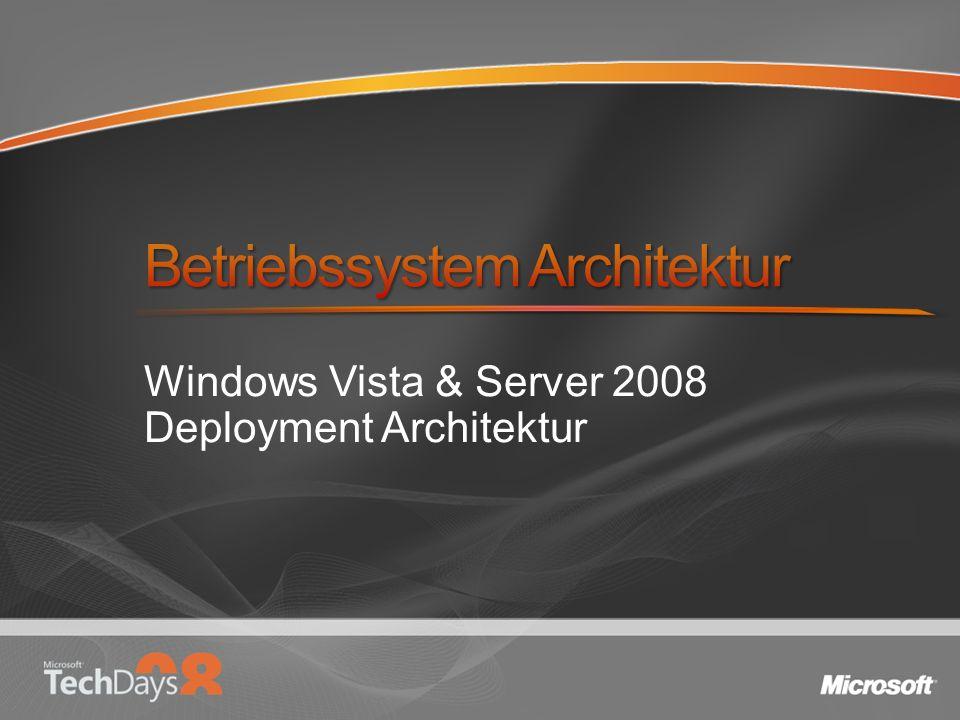 Windows Vista & Server 2008 Deployment Architektur