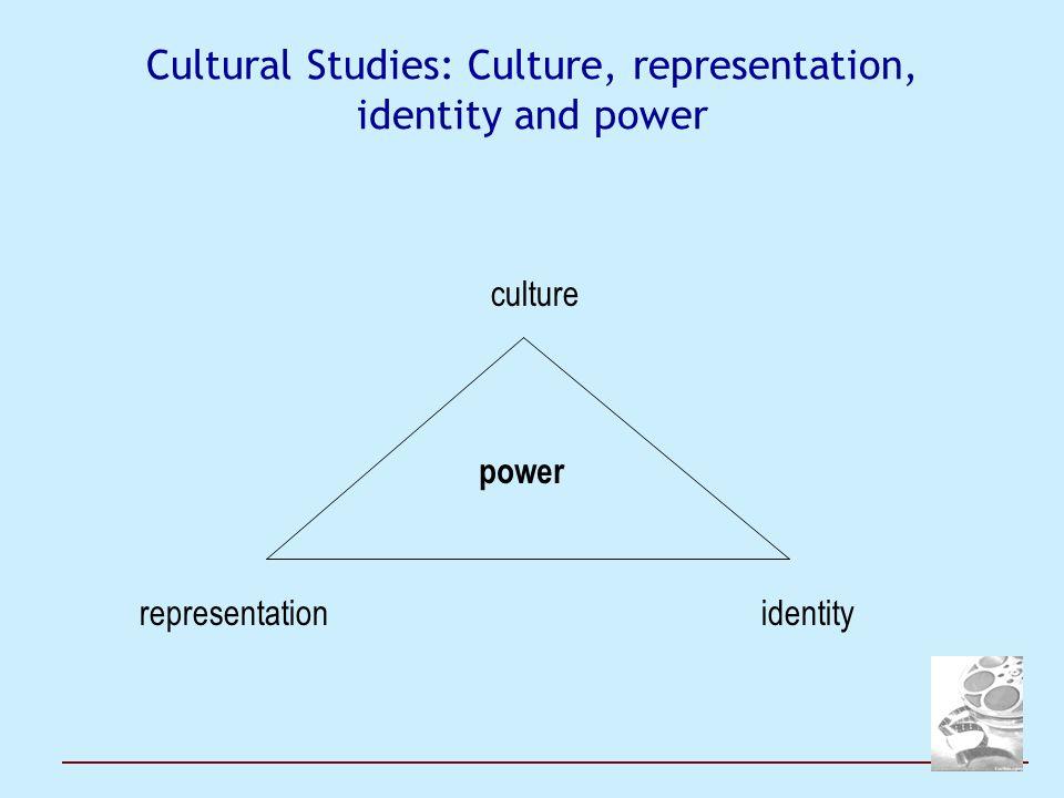 Cultural Studies: Culture, representation, identity and power culture representation identity power