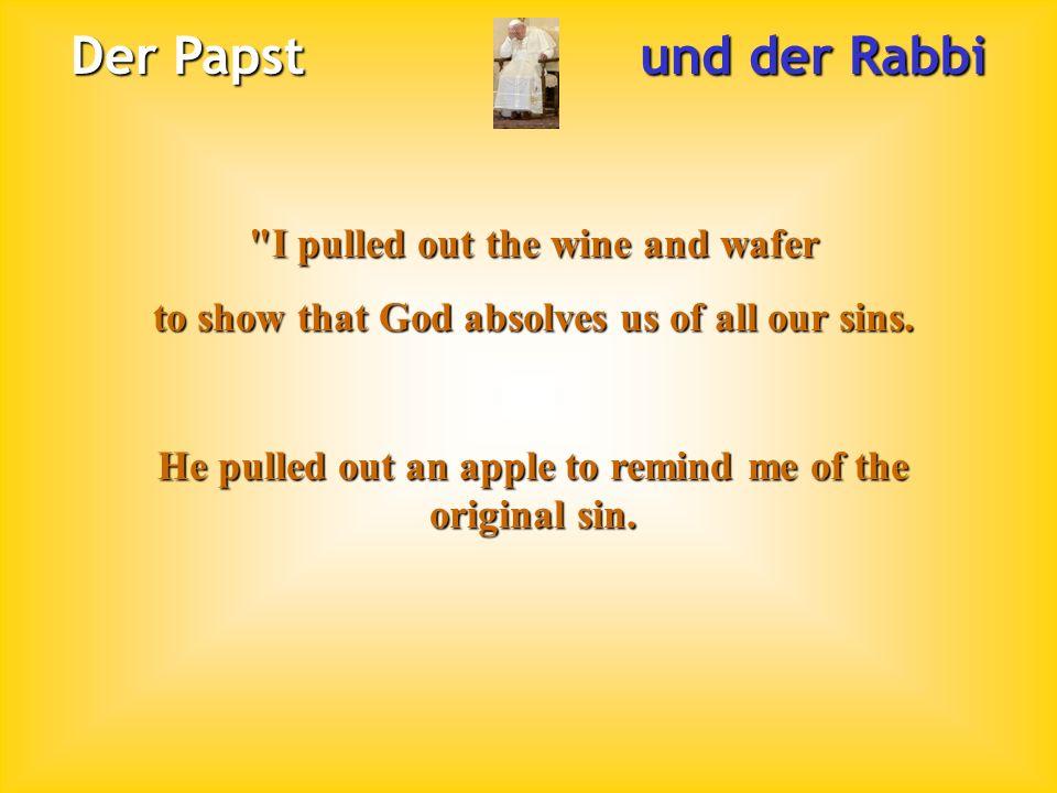 Der Papst und der Rabbi