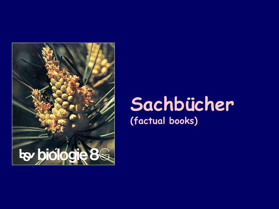 Sachbücher (factual books)