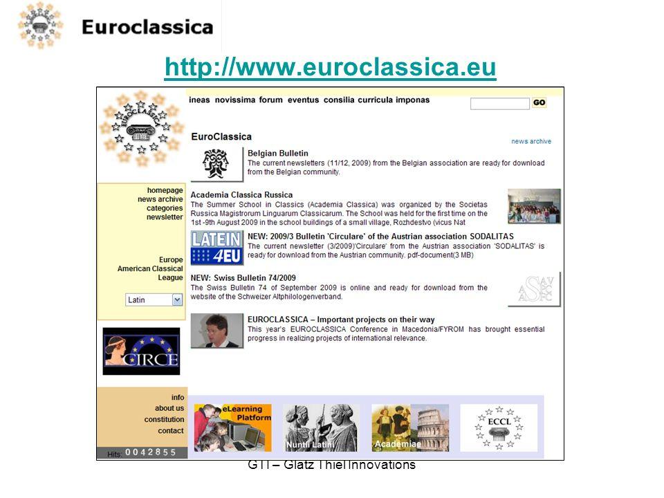 GTI – Glatz Thiel Innovations http://www.euroclassica.eu