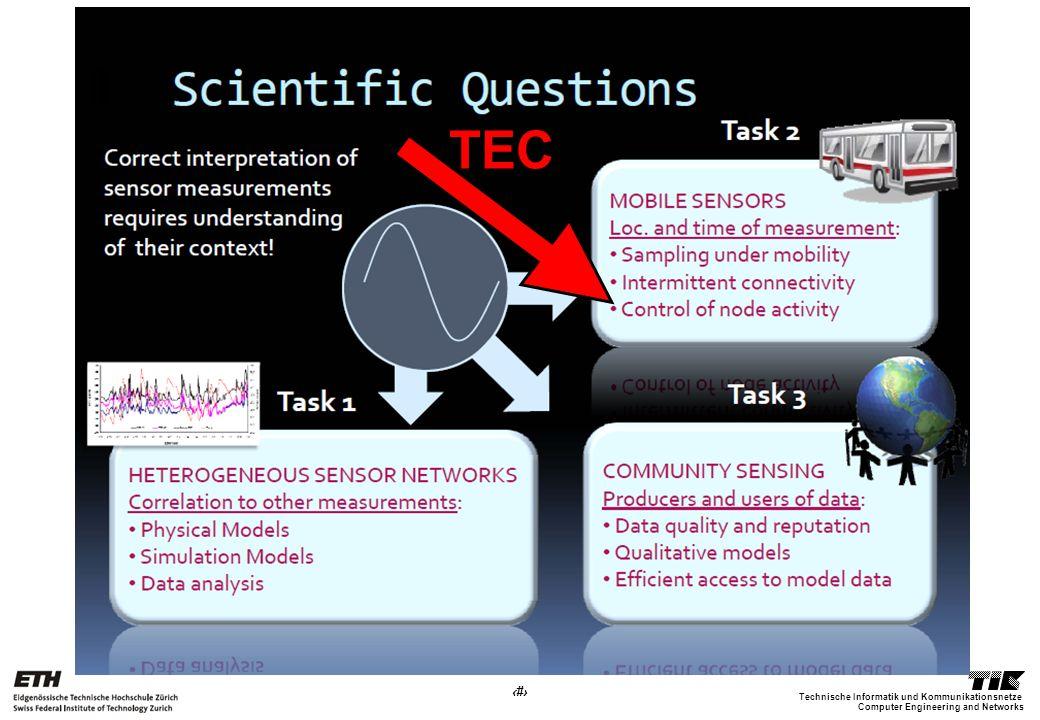 27 Computer Engineering and Networks Technische Informatik und Kommunikationsnetze TEC