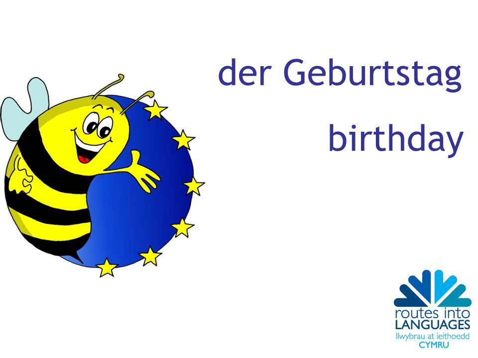 der Geburtstag birthday