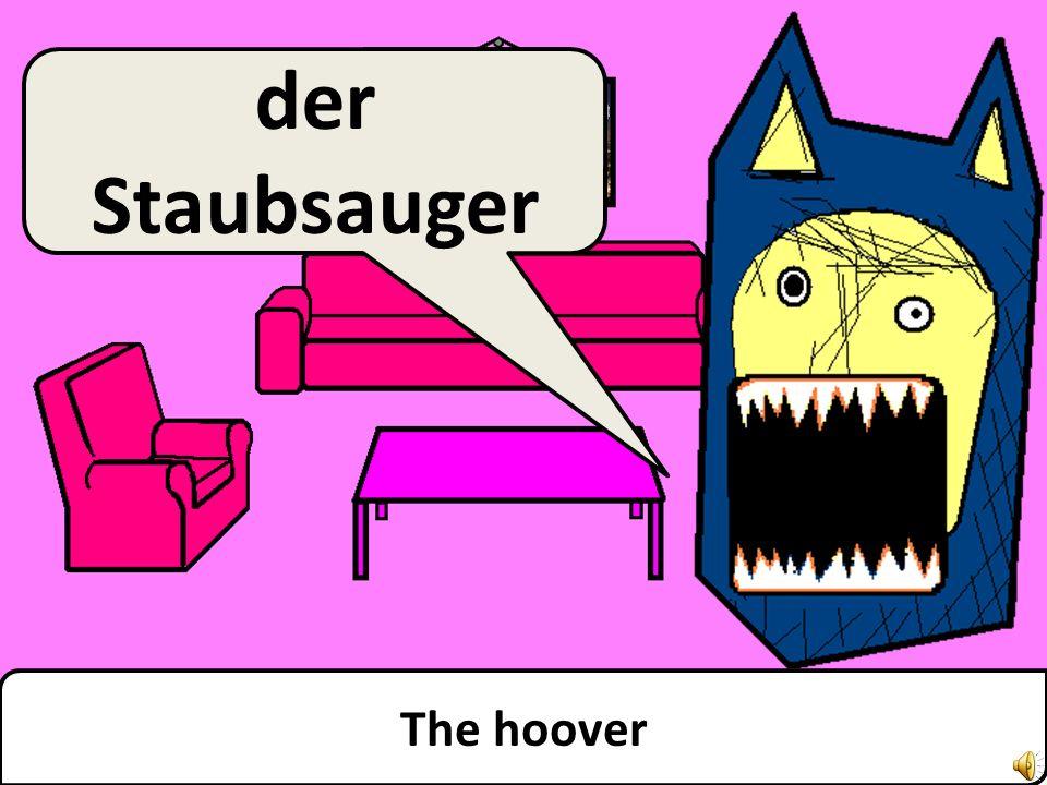 The television der Fernseher
