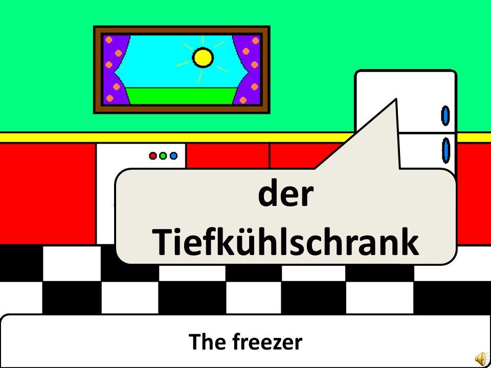 The fridge der Kühlschrank