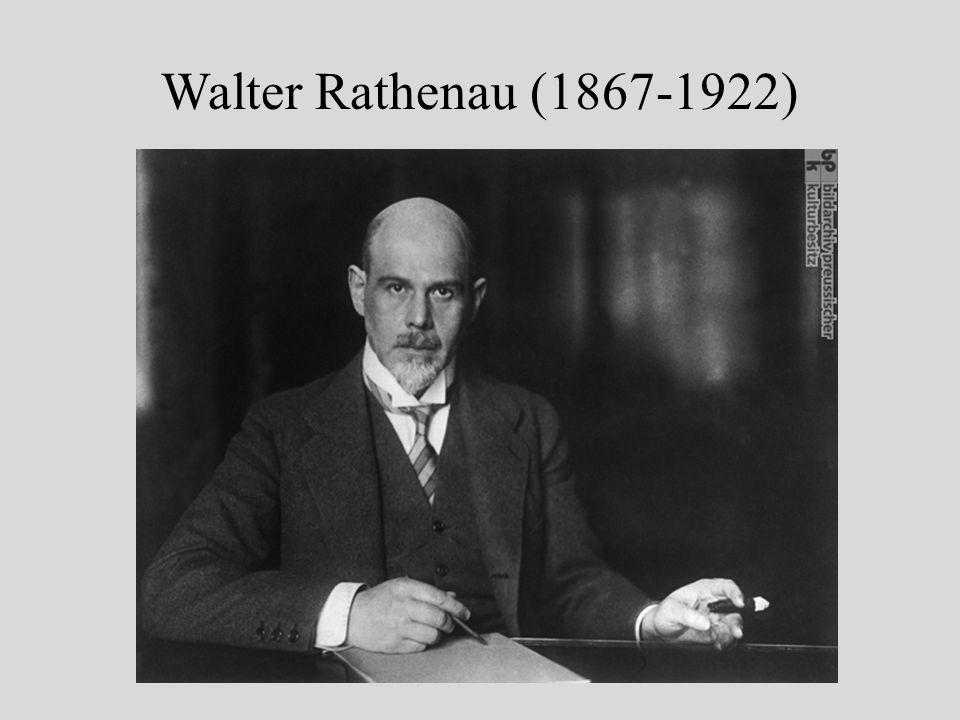 Walter Rathenau (1867-1922)