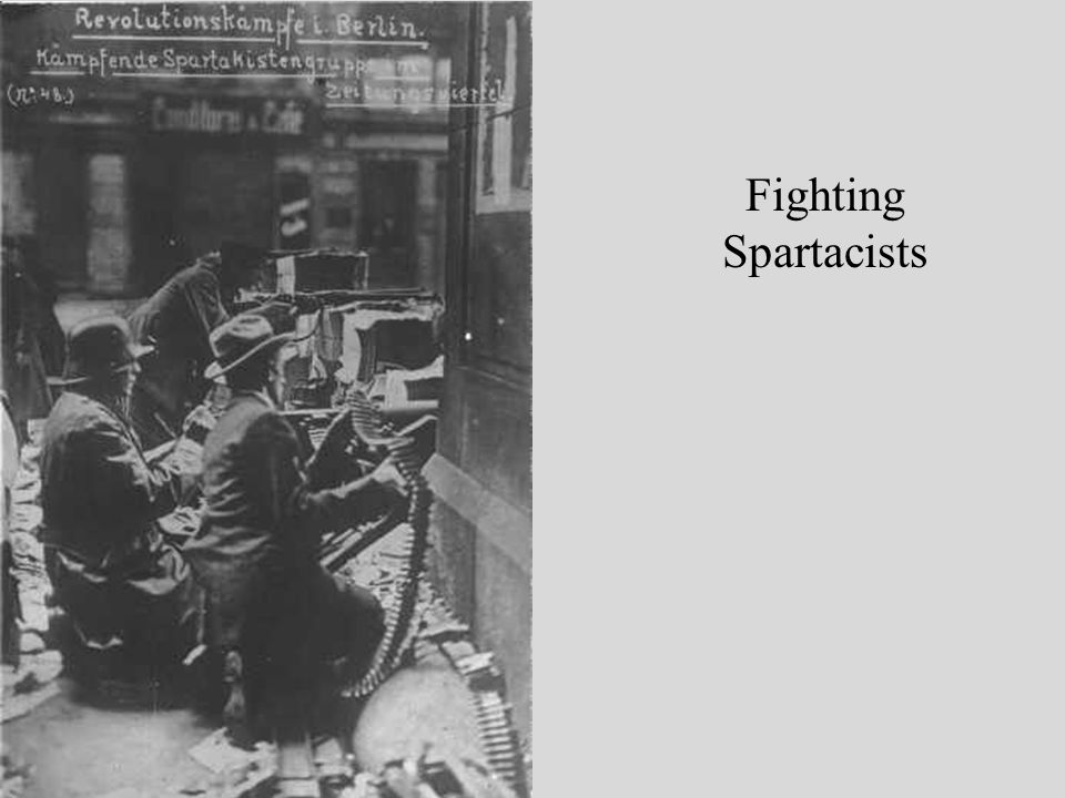 Fighting Spartacists