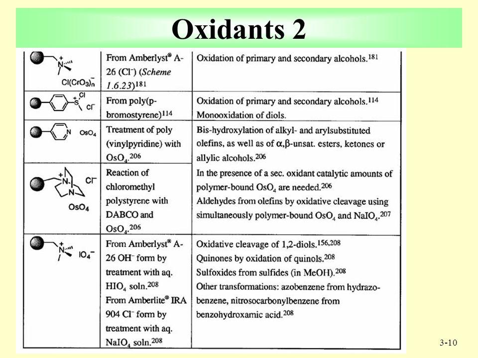 3-9 3 Oxidants