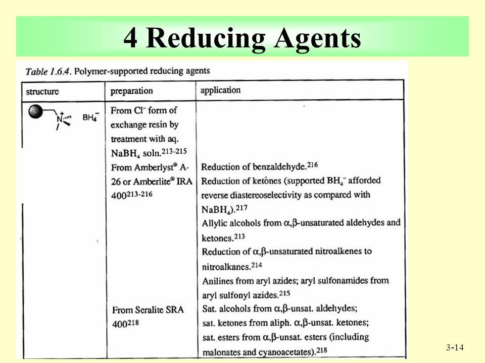 3-13 Example: One Pot Procedure