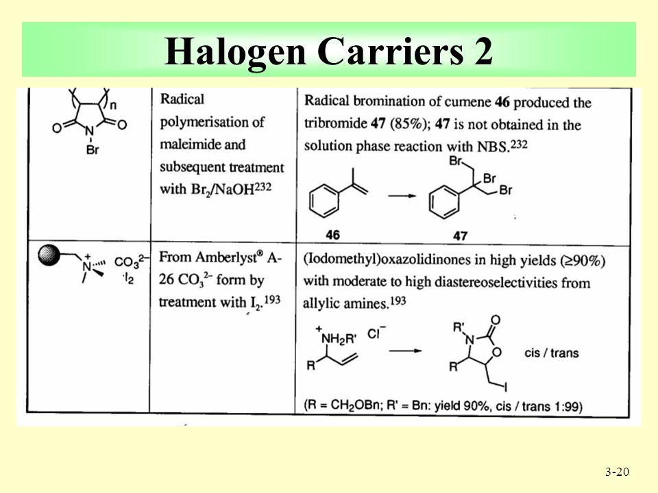 3-19 6 Halogen Carriers