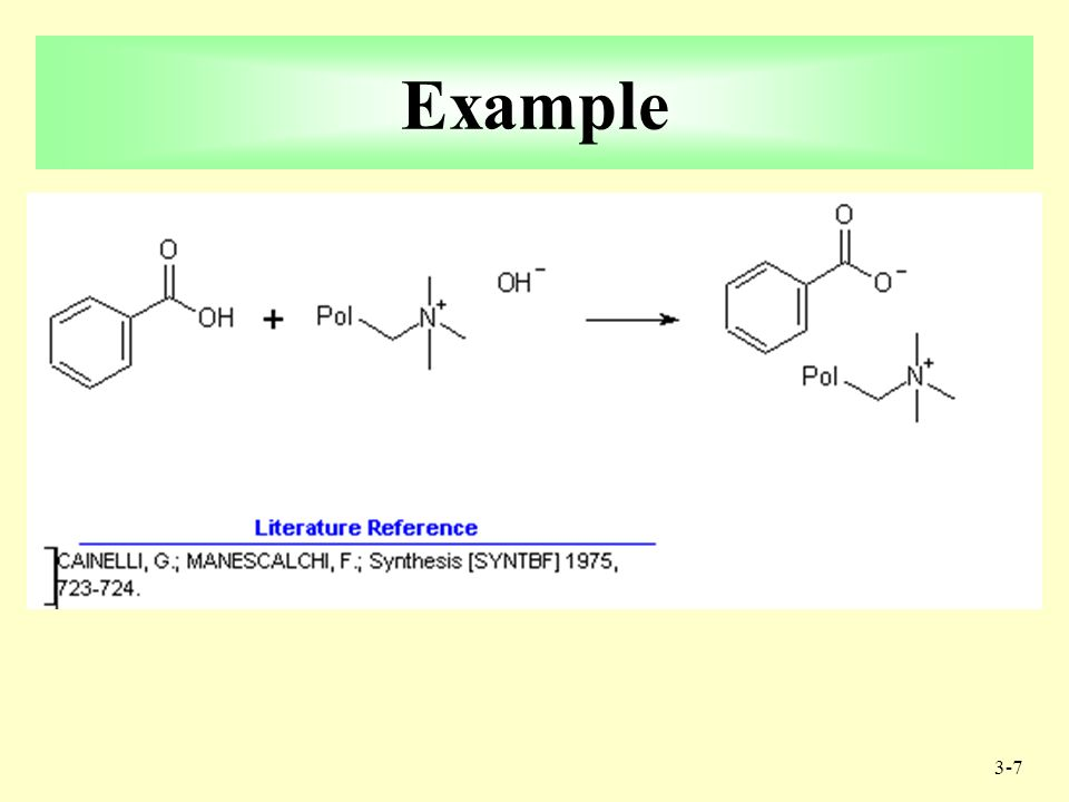 3-6 Nucleophiles